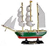 osters muschel-sammler-shop Rickmer Rickmers 23 cm Schiffsmodell/Standmodell/Segelschiff/Modellsegelschiff/Traditionssegler