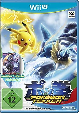 Pokémon Tekken (inkl. amiibo Karte) - [Wii U]