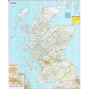 North Coast 500 Map - Folded - Standard Paper: Amazon co uk