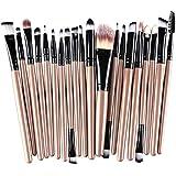 15X Demarkt Brocha Para Maquillaje Set de herramientas Base Polvo Kit Lana