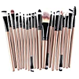 15X Demarkt Brocha Para Maquillaje Set de herramientas Base Polvo Kit