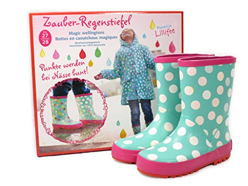 Spiegelburg Princess Lillifee Magic Rain Boots In 2 Sizes -