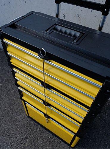 METALL Werkzeugtrolley Werkzeugkasten Werkstattwagen XXL Type 305/BBCD von AS-S - 6
