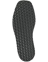 Premium Celular Goma Completo Plantas de los pies -Star negro 1 par para reparación zapatos Reparaciones de suelas Especial antideslizante perfil para máxima tracción! Excelente abrasión performance - Negro, Thickness: 6 mm