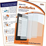 Die besten kindle Displayschutzfolie - 3 x mumbi Displayschutzfolie Kindle Paperwhite Schutzfolie AntiReflex Bewertungen