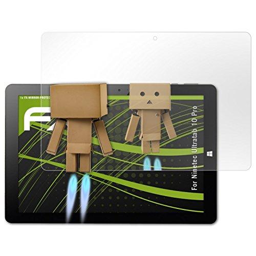 atFolix Displayfolie für Ninetec Ultratab 10 Pro Spiegelfolie, Spiegeleffekt FX Schutzfolie
