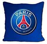 Paris Saint Germain 2018-2019, Fußballclub - Großes Kissen von Paris Saint Germain Französische Meisterkollektion, Cavani, Mbappé, Neymar Limited Edition 35 x 35 cm
