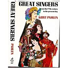 Title: Great singers from the seventeenth century to the