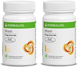 Herbalife Afresh Powder - 50 G (Lemon, Pack Of 2)