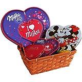 Geschenk Set Von Herzen mit Pralinen (4-teilig)