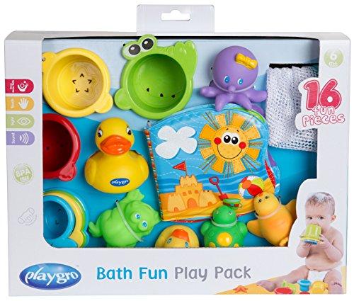 Spielzeug Wasser Badewanne (Playgro 40115 Badespielzeug- Geschenkset)