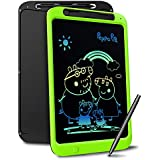 Richgv 12 Inch Colorful LCD Writing Tablet with Anti Function & Writing Pen, Digital Ewriter Electronic Graphics Drawing Tablet Portable Doodle with Memory Lock Suitable for Over 3-Yr-Old Kids