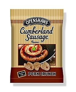 Freshers Foods Openshaws GastroPub Cumberland Sausage Pork Crunch Card, 22 g (Pack of 8)