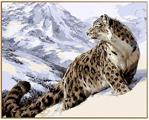 YKCKSD Puzzle Adulte Adulte Adulte 1000 Pièces DIY Picture Leopard Animal Main Ed Dessiner sur l'image pour La Maison Mur B07MB2FKW7 357b21