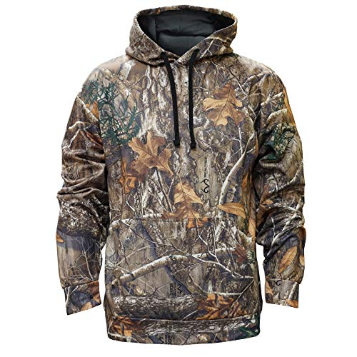 Poly Hoody (Staghorn Herren Poly Camo Hoody Kapuzenpullover, Realtree Edge Frame, X-Large)