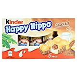Kinder Happy Hippo Cacao, 5 Riegel, 103.5 g