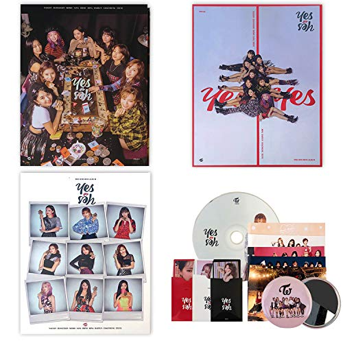 TWICE 6th Mini Album - YES OR YES [ A+B+C SET ] CD + Photobook + Photocards + FOLDED POSTER + OFFICIAL 10p PHOTOCARDS SET+ FREE GIFT / K-pop Sealed