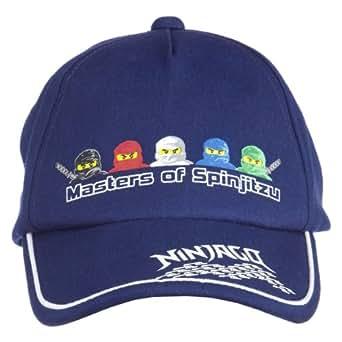 LEGO Wear Jungen Cap LEGO Ninjago Cap ALEC 214B, Gr. 52, Blau (588 MIDNIGHT BLUE)