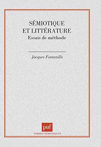 Sémiotique et littérature : Essai de méthode, 1ère édition