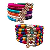 Pridetrend Thread Bracelet Set for Women...