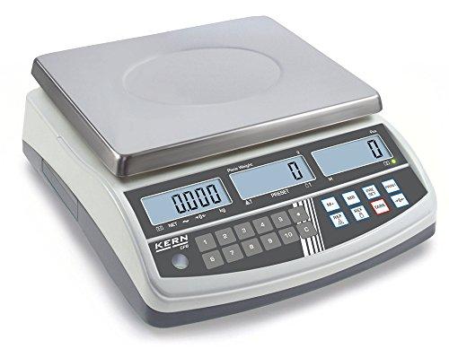 Balanza cuentapiezas - Modelo profesional a muy buen precio [Kern CPB 15K0.2N] , Campo de pesaje [Max]: 15 kg, Lectura [d]: 0,2 g
