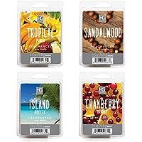 Hosley's 10 oz Assorted Scent Wax Cubes / Melts. Sandalwood, Island Breeze, Tropical Punch & Cranberry Orange.... preisvergleich bei billige-tabletten.eu