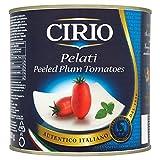 Cirio Pelati geschälte Tomaten Plum 2500g