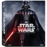 Star Wars: The Complete Saga (All 6 Movies Collection) - Episode 1: The Phantom Menace + Episode 2: Attack of the Clones + Episode 3: Revenge of the ... Box Set incl. over 40 hours of Extras)