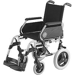 Silla de ruedas manual en acero plegable Breezy 250 ruedas pequeñas asiento 40 cm