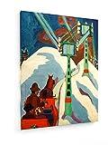 Ernst Ludwig Kirchner, Trineo - 1922 - 45x60 cm - Impresión en lienzo textil - Muro de arte - Old Masters / Museum
