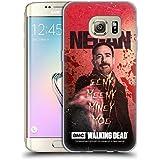 Officiel AMC The Walking Dead Eeny Miney Coloré Negan Étui Coque en Gel molle pour Samsung Galaxy S7 edge