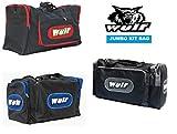 Kit di Sacchetti per Moto per Caschi, Stivali e Vestiti: WULFSPORT ATV QUAD PROVE ENDURO Off Sacchetto dei Bagagli Moto Stradale, Borse da Turismo (GRIGIO)