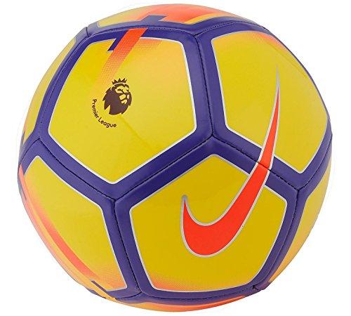 Nike Pitch Größe 4Alter 6–12Jahre English Premier League Logo Kids Kinder Jungen Mädchen Fußball Saison 2018(gelb/lila)