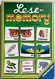 Lese- memory. - RAVENSBURGER - ( Kindersspiel.)