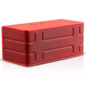 Naztech N52 Koncert BT Speaker and Power Bank - Red - Retail