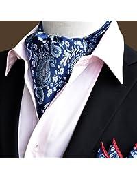 Qiang da Pañuelo De Seda Hombres Corbata Pañuelo Cuello De Camisa Bufanda De Negocios, 50.4 * 6.3 Pulgadas, 22 Estilos Opcional ( Color : 19# )