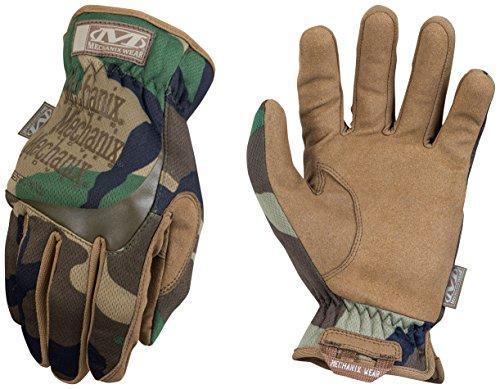 Mechanix FastFit Gloves Woodland Camo Large