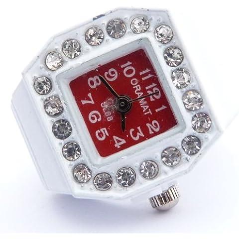 Ringuhr lunetta, orologio di anello, tutte le taglie W/R/4