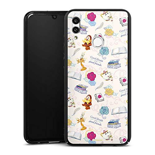 Hülle kompatibel mit Huawei Honor 10 Lite Handyhülle Case Disney Beauty and The Beast Prinzessin