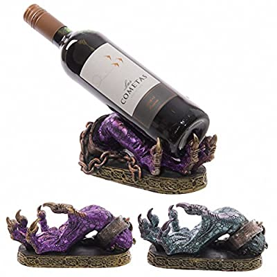 Dark Legends Wine Bottle Holder - Dragon Claw