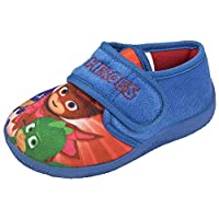 PJ MASKS Boys Slippers Superhero Mules