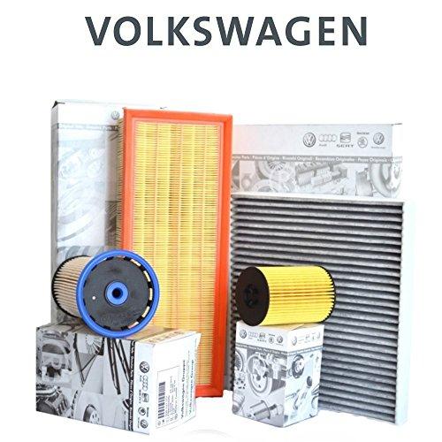 Kit tagliando 4 FILTRI ORIGINALI VW GOLF VII 7 5G1 2.0 TDI 110 KW 150 CV dal '12