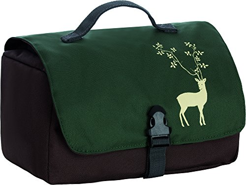 Grüezi Deer Trousse de toilette Marron Marron grand