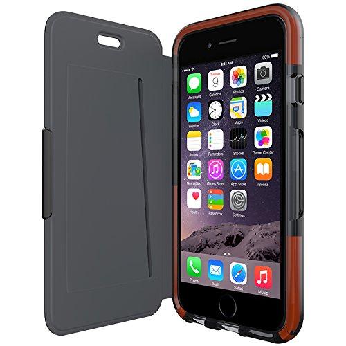 Tech21 Classic Shell Wallet Schutzhülle in schwarz für Apple iPhone (Shell Purse)