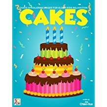 Cakes 50 Coloring Pages For Older Kids Relaxation