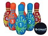 Купить Schildkröt Funsports Kegel Set Bowling im Meshbag, 970129