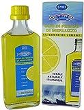 Olio di fegato di merluzzo liquido al limone LYSI dall'Islanda. Flacone vetro da 240. Olio di pesce di tipo trigliceride di grado farmaceutico, al gusto di limone, senza retrogusto di pesce.