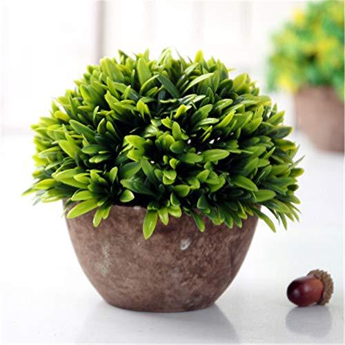 Salone di fiori artificiali fiori finti decorazione finta pianta in vaso bonsai ornamento visualizzazione artificiale vaso di fiori piantare