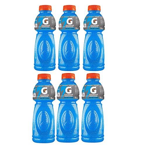 Gatorade Sports Drink, Blue Bolt, 500ml each (Pack of 6)