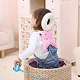 SHOPPOSTREET Baby Head Protector for Crawling Baby Toddlers Head Safety Pad Baby Head Cushion with Flexible Strap Back Protection for Baby Walkers Prevent Head and Shoulder from Injuries (Multicolor)
